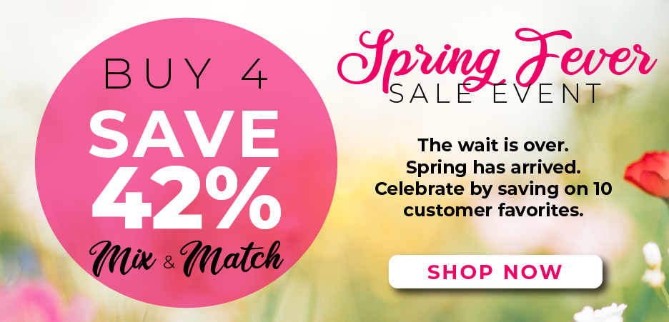 Buy 4 select products, save 42%  - mix and match