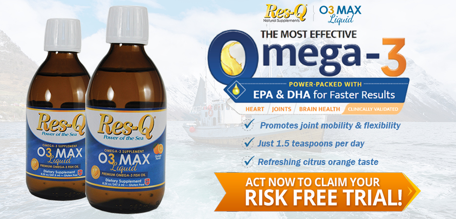Try O3Max Liquid for FREE