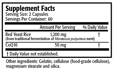 Res-Q LDL-XQ10 Red Yeast Rice