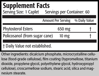 Serving Size: 1 Caplet                                          Servings per Container: 60