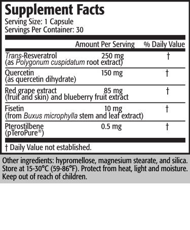 Serving Size: 2 Caplets      Servings per Container: 30