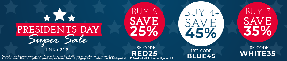 Presidents Day Super Sale