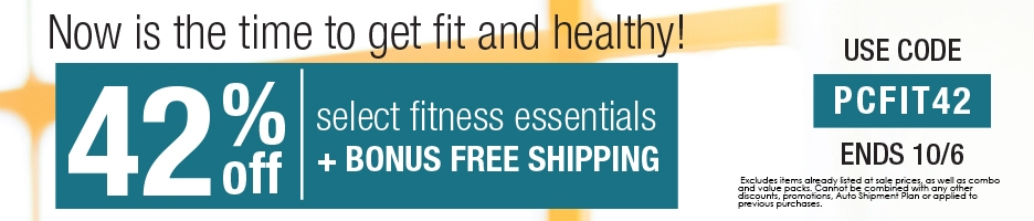 Save 42% on Your Fitness Essentials!