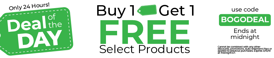 Buy 1, Get 1 Free | Ends at Midnight