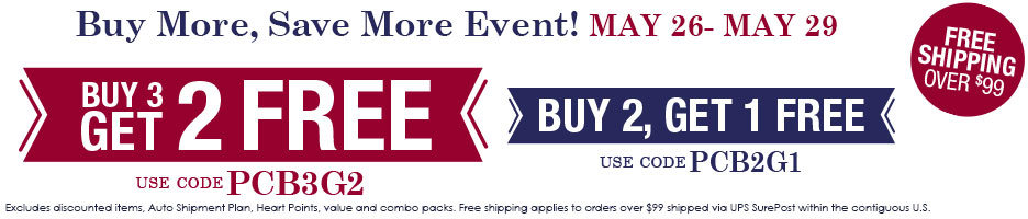 Buy More, Save More Event!
