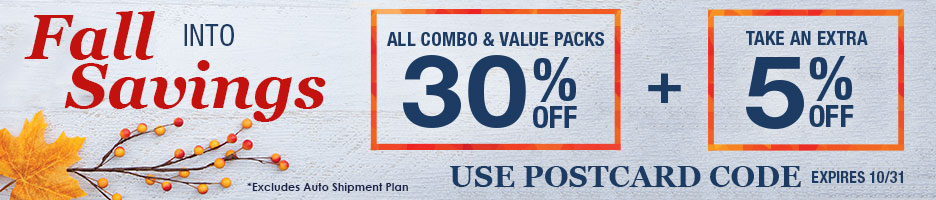 Extra Savings on Combos!