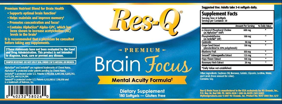 Brain Focus (Item #0153)